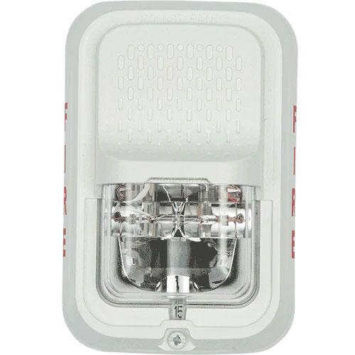 System Sensor SGWLA L-Series Indoor SelectableOutput Compact Horn Strobe