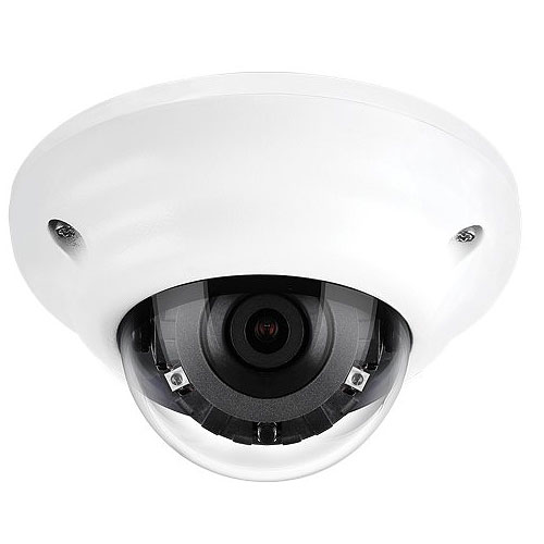 PixelPro with GXi ZN1A-M4DTFN3 1080p STARVIS IR IP Mini Dome with 2.8mm Lens & Video Analytic Technology