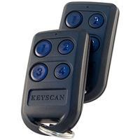 4 Button RF Trans C/W Hid Chip