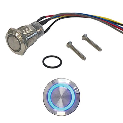 CDVI PBM Illuminated Push Button (Momentary)