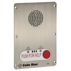 Ia4100 1 Button Push For Help Bezel
