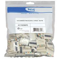 ICC IC110CB5PC 110 Connecting Block 5 Pair, 100-Pack