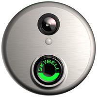 Alarm.Com Wi-Fi Doorbell Camera Skybell HD (Sati