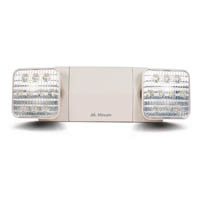 TWIN SPOT LED EMER LIGHT (REMOTE CAPABLE)