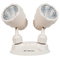UNIV 2 X 2W LED EMER DUAL REMOTE HEAD