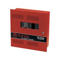 4 Zone Expdable To 8 Microprocessor Based, Red Cabi