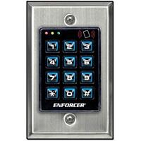 Seco-Larm SK-1131-SPQ Indoor Illuminated Stand-Alone Keypad with 1200 Users