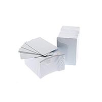 500 Iso Cr80 PVC Plain 30mil White Cards