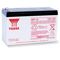NP7-12, 12V 7Ah Sealed Lead Acid Battery