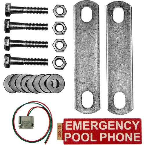 Emergency Pool Phone Housing Mounting Kit