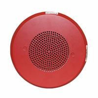 Eaton Wheelock E90-R E90 Speaker, Round, Wall/Ceiling, Red