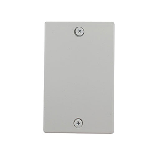 Canplas 765585W Standard Rough-in Cover Plates for Central Vacuum Piping System, White