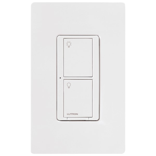 Lutron Caseta Wireless 6A In-Wall Neutral Switch, 120 V
