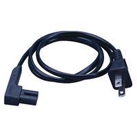 Vanco Right Angle Power Cord - 2 Prong